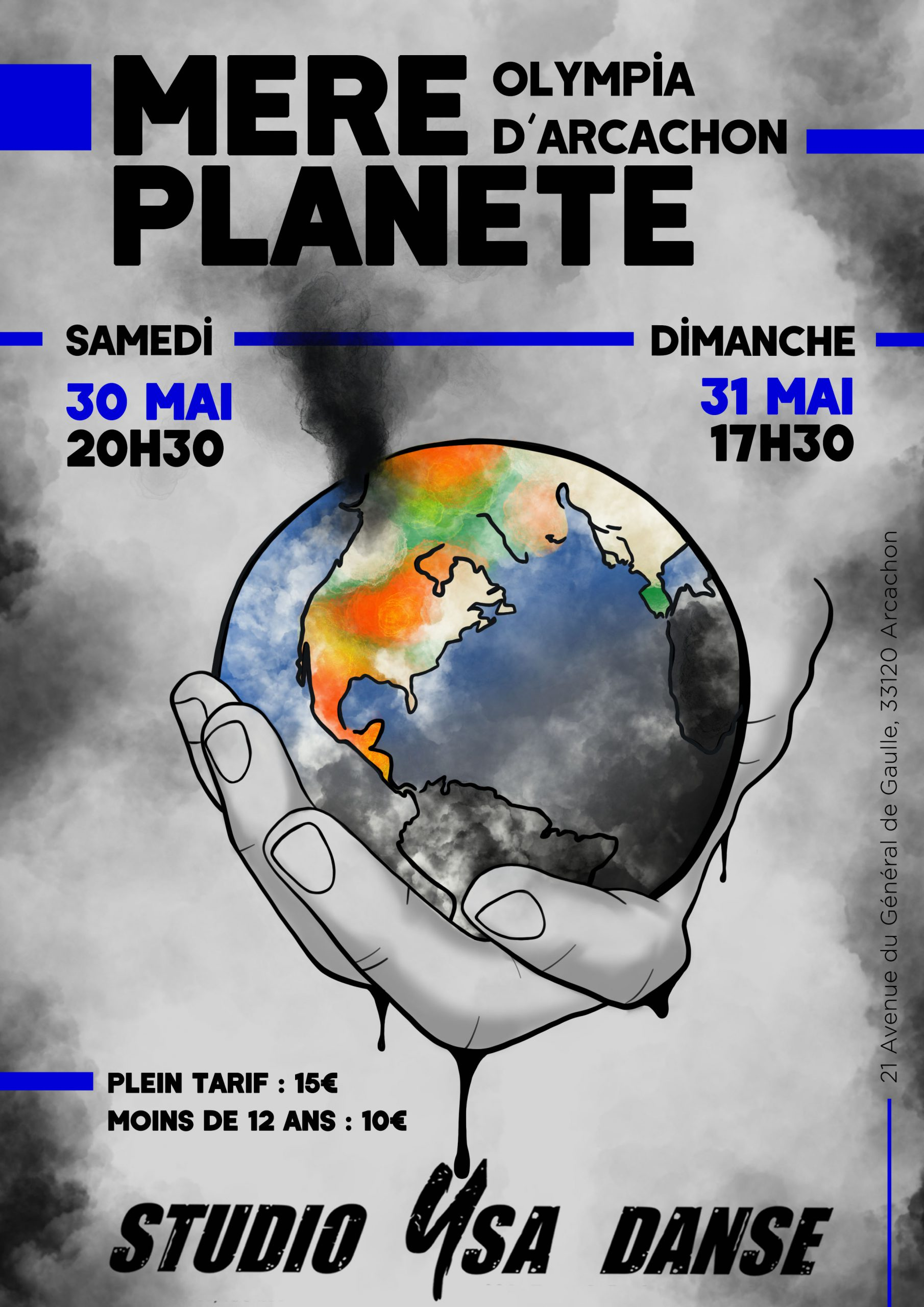 Affiche Spectacle de fin d'année 2020